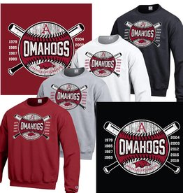 Champion OMAHOGS Cross bats Powerblend Crew