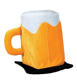 Bases Loaded Plush Beer Hat