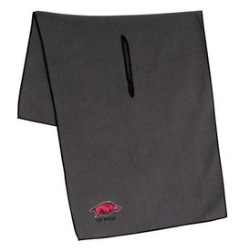 19 X 41 Grey Microfiber Golf Towel