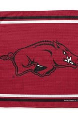 Arkansas Razorback 13 X 13 Waffle Golf Towel