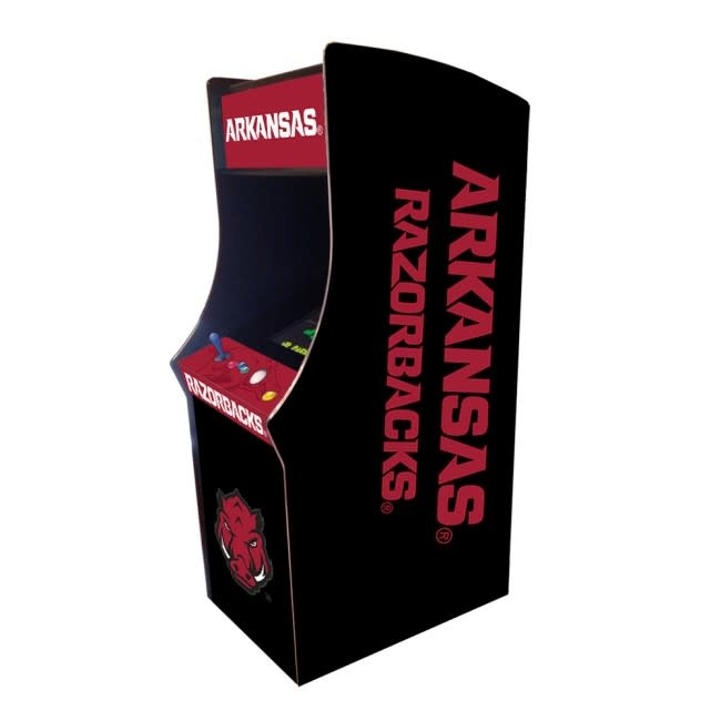 Arkansas Razorback Upright Arcade Game Console