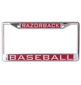 Baseball Metal License Plate Frame