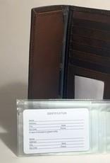 Arkansas Razorback Roper Leather Checkbook Wallet