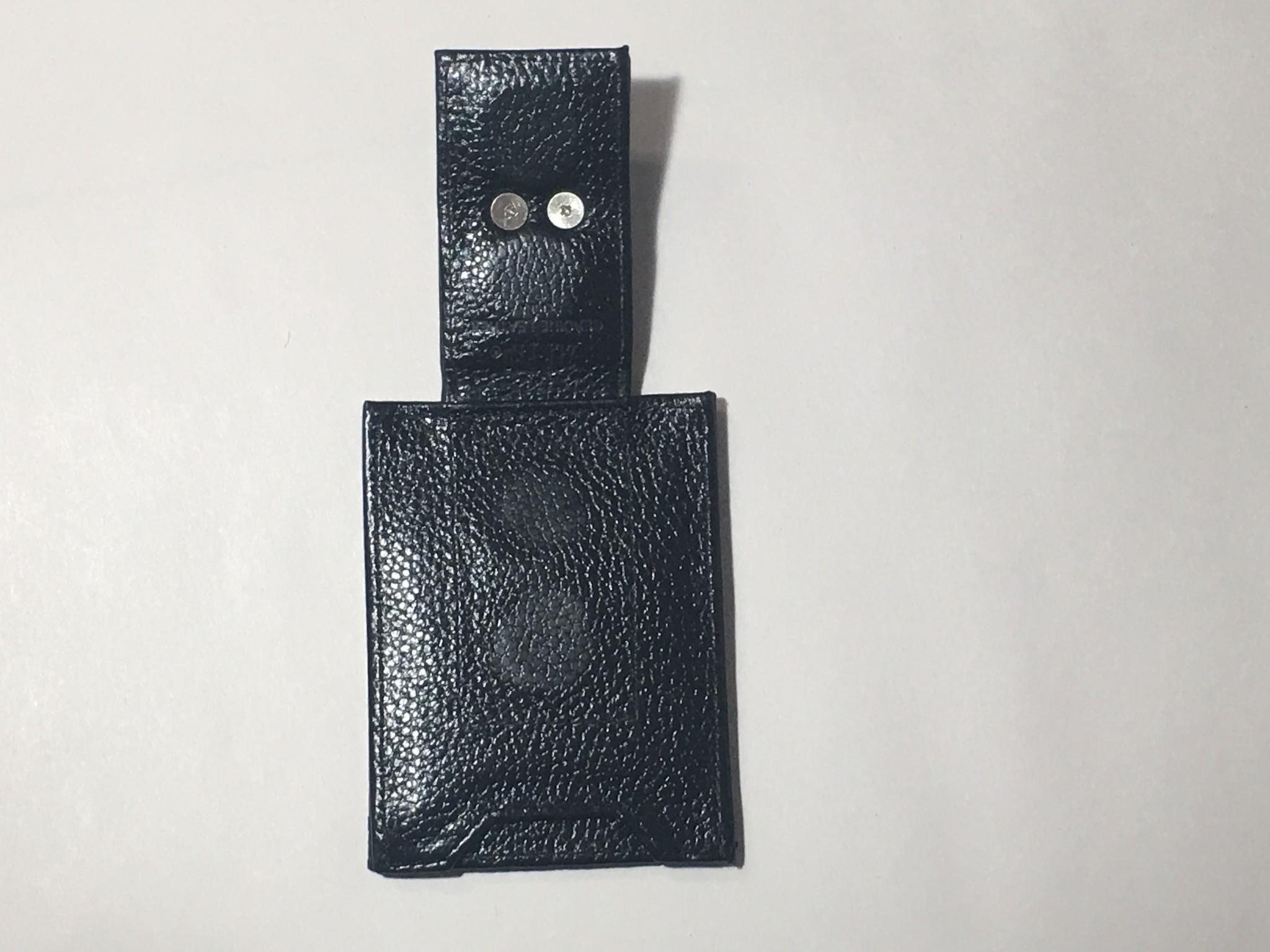 Arkansas Razorback Leather Concho Money Clip Wallet