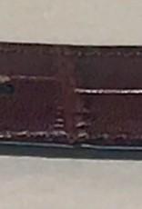Arkansas Razorback Brown Crock Leather Concho Belt
