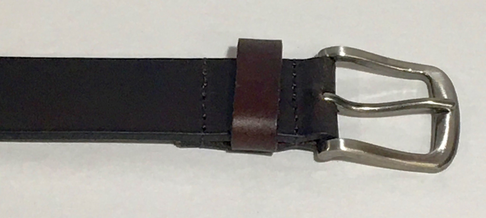 Arkansas Dark Brown Leather Concho Belt