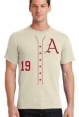 Cream Arkansas Razorback Baseball Shirsey