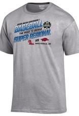 Gear For Sports 2019 NCAA Baseball Fayetteville Super Regional Short Sleeve Tee