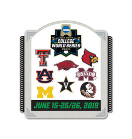 2019 CWS 8 TEAM Collectors Pin