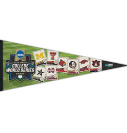 2019 CWS Premium Quality Collectors Pennant  8 TEAM