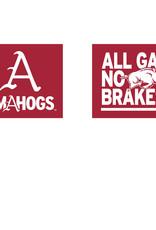 Stadium Shoppe Original All Gas No Brakes OMAHOGS Car Flag