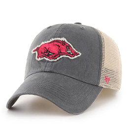 '47 Brand Arkansas Razorback '47 Franchise Stretch Fit Hat By '47 Brand