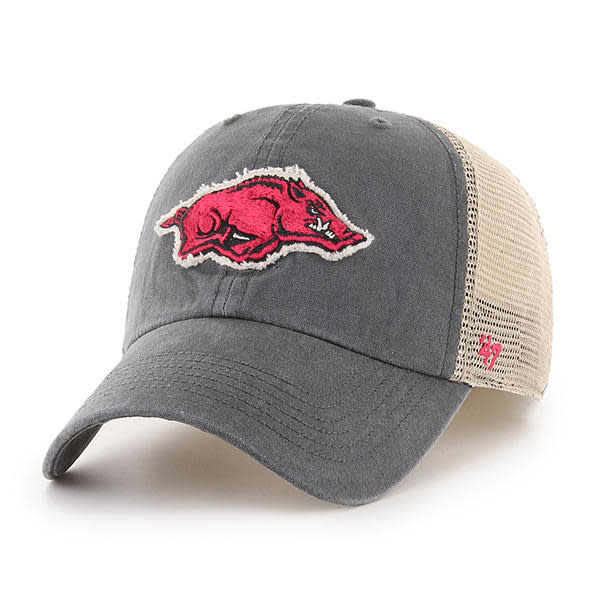 '47 Brand Arkansas Razorback '47 Franchise Stretch Fit Hat By '47 Brand