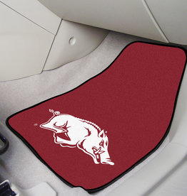 Fan Mats Razorback Carpeted Car Mats
