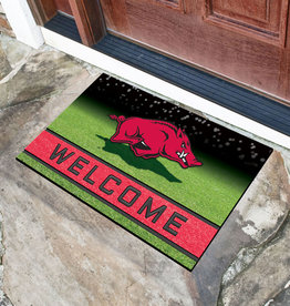 Fan Mats Razorback Crumb Rubber Door Mat