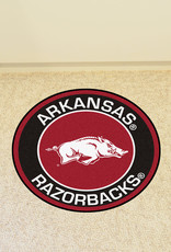 Fan Mats Arkansas Razorback Roundel Mat