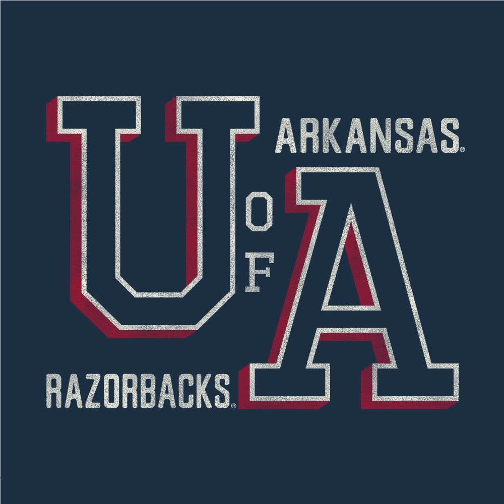 Alternative Arkansas Razorback School Yard Hoodie