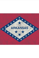 Alternative Arkansas State Flag 3/4 Sleeve Tee By Alternative