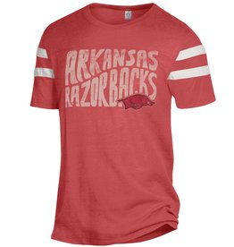Alternative Arkansas Razorback Eco Football Tee  By Alternative