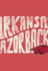 Alternative Arkansas Razorback Eco Football Tee By Alternative