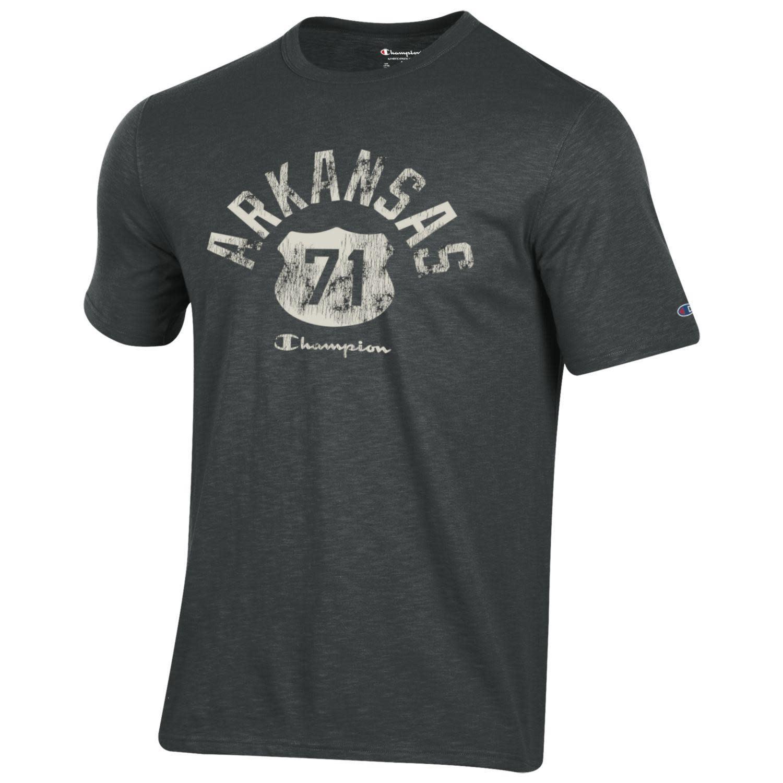 Champion Arkansas Razorback US 71 Rochester Short Sleeve Tee