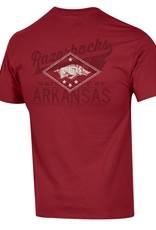 Champion Razorback Diamond Design Jersey Tee