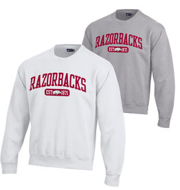 Gear For Sports Razorbacks Big Cotton Crew By Gear For Sports