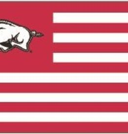 University Blanket & Flag 3 X 5 Hog & Stripes Spirit Flag