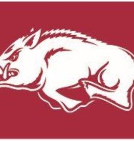University Blanket & Flag 3x5 Dura Wave Flag Red w/ white hog