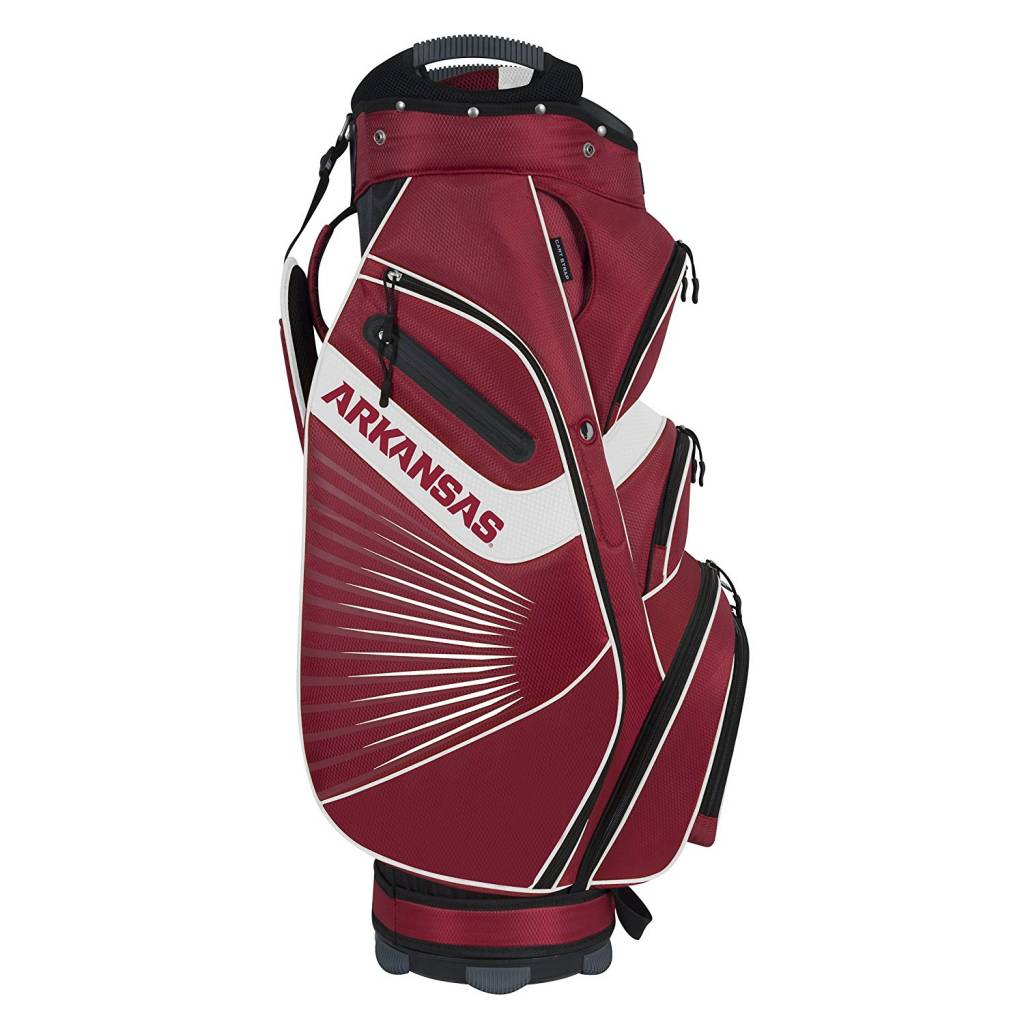 Arkansas Razorback Bucket™ II Cooler Cart Golf Bag