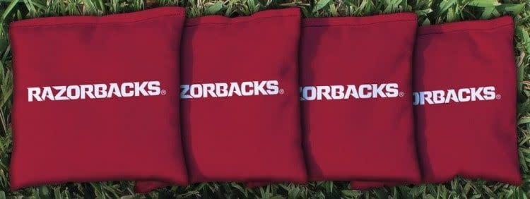 Victory Tailgate Razorback Regulation Cornhole Bags