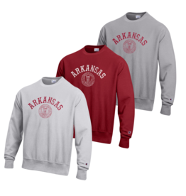 Champion Arkansas Reverse Weave Crew Seal