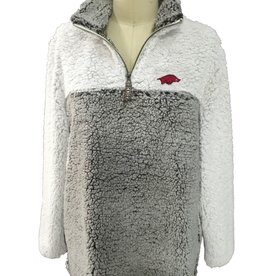 Summit Razorback Women's Color Block Sherpa 1/4 Zip