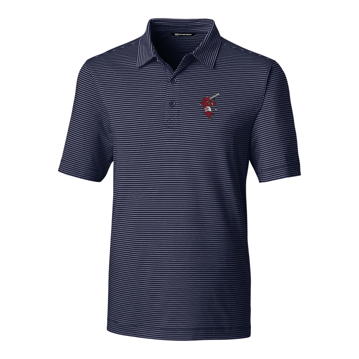 Cutter & Buck Ribby Forge Pencil Stripe Polo By Cutter & Buck