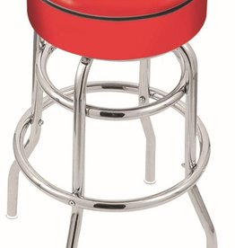 "Holland Bar Stool 30"" bar stool chrome 2 Ring"