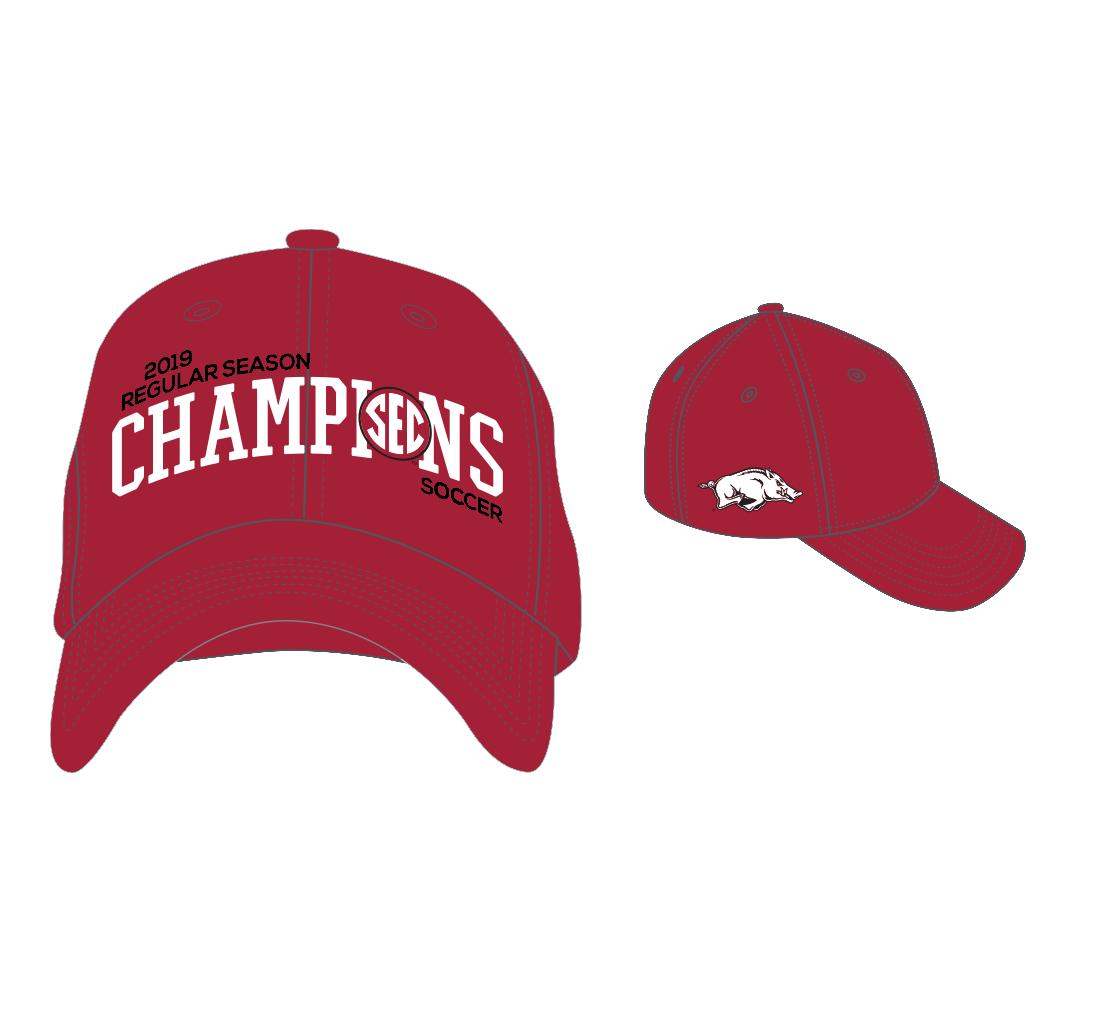 Top Of The World 2019 SEC Soccer Season Champions Team Locker Room Hat