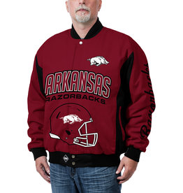 Franchise Club MFG. CO Arkansas Razorback Top HOG Cotton Twill Jacket