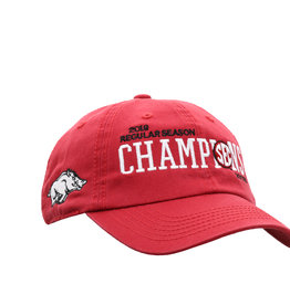 Top Of The World 2019 SEC Soccer Season Champions Team Locker Room Hat