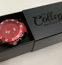 The College Watch Company Arkansas Razorback Men's 55MM Watch