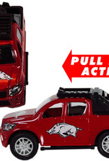 Jenkins Enterprises Arkansas Razorback Pull Back Toy Truck