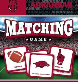 Leanin' Tree Arkansas Razorback Matching Game
