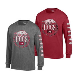 Gear For Sports Razorback Long Sleeve 2 location Tee