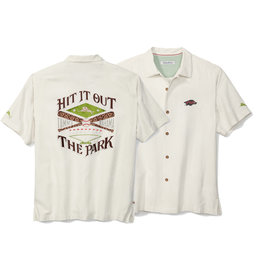 Tommy Bahama Razorback Out Of The Park Limited Edition Camp Shirt