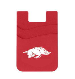 Arkansas Razorback Dual Pocket Phone Wallet