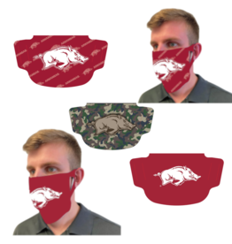 Wincraft Razorback Face Covering - Masks 3 Pack