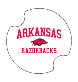 Thirstystone Arkansas Razorback Car Coaster set of 2 By Thirstystone