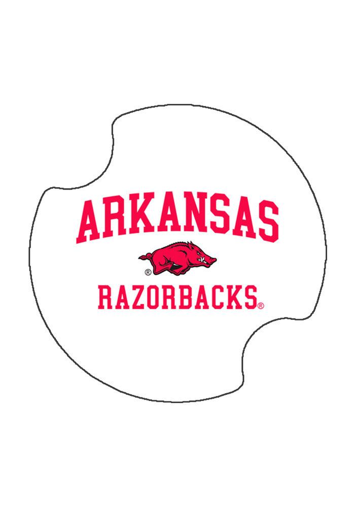 Thirstystone Arkansas Razorback Car Coaster set of 2 By Thirstystone