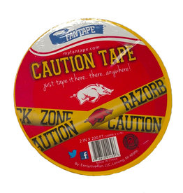 Arkansas Razorback Caution Tape