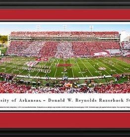 Blakeway Panorama DS Razorback Football Stadium Panorama Print