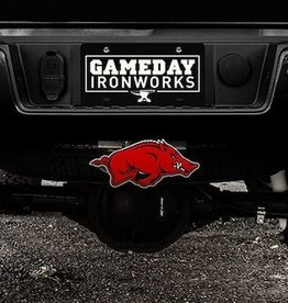 Gameday Ironworks Razorback Steel 3D Receiver Hitch Cover